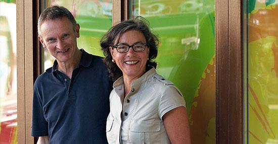 Anne Weis und Helmut Welp